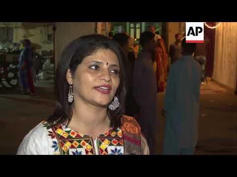 Hindus in Pakistan celebrate Diwali festival