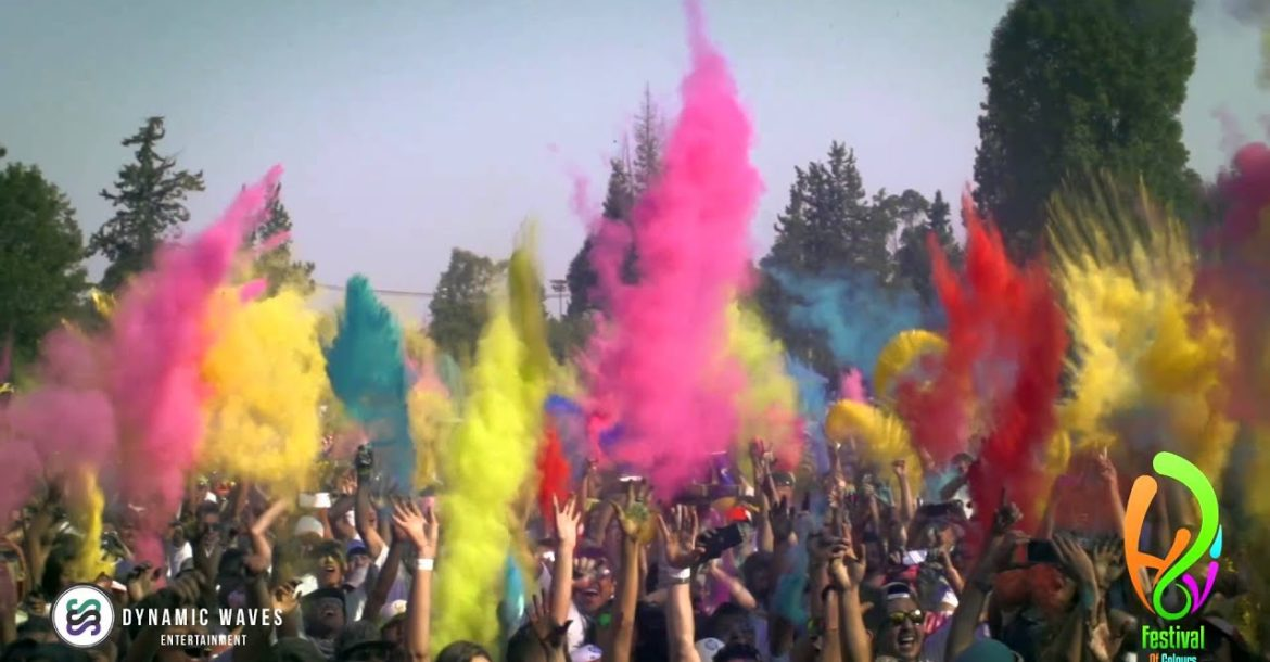 Holi Festival Of Colours Mexico City 2014