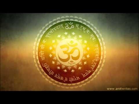 Instrumental  Gayatri Mantra Flute, Sitar & Santoor