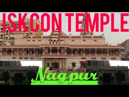 Iskcon Temple Nagpur.. Awesome Temple with Beautiful Scenes..Jai shri Krishna
