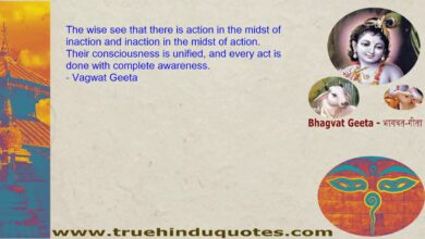 Life Quotes from: Geeta