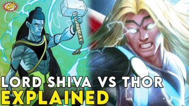 Lord Shiva Vs Thor In Marvel Explained || #ComicVerse