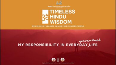 My Responsibility in Everyday (Quarantined) Life – Timeless Hindu Wisdom Series: Session 3