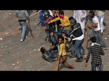 Several killed, scores injured in riots in Indian capital