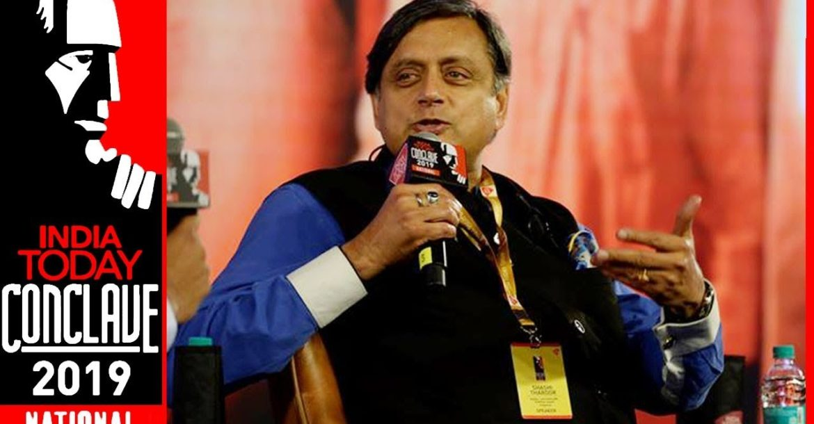Shashi Tharoor Says Hindutva Ties Hinduism To Political Ideology | India Today Conclave 2019