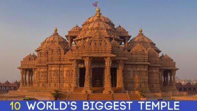 Top 10 Largest Hindu Temples In The World