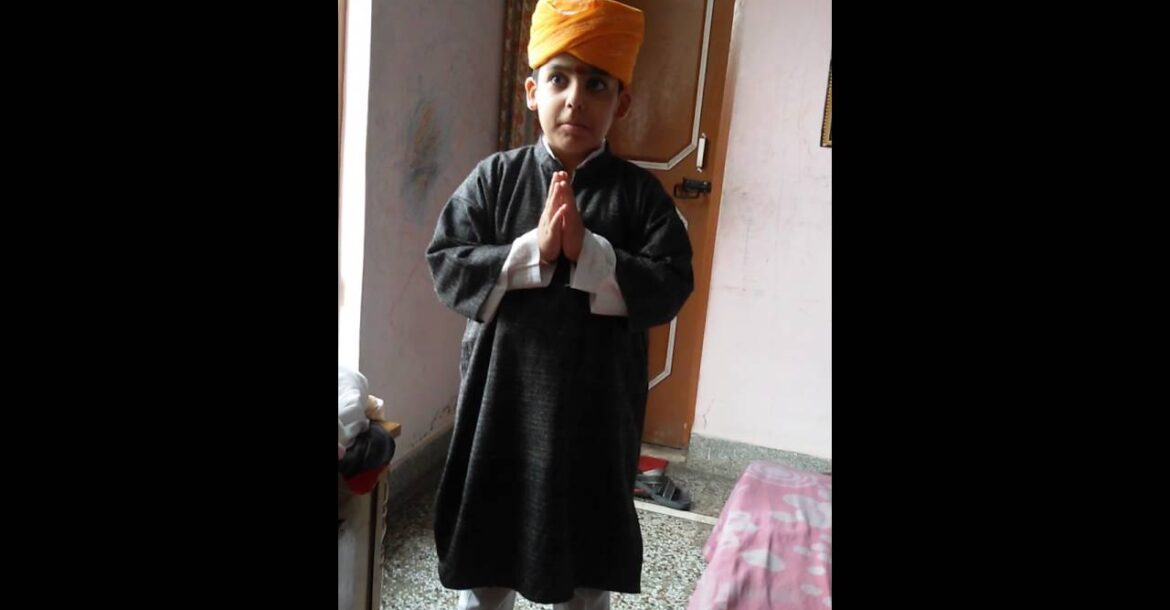Traditional kashmiri hindu male dress code