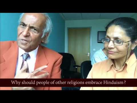 Why should people of other religions embrace Hinduism ? | Jay Lakhani | Hindu Academy