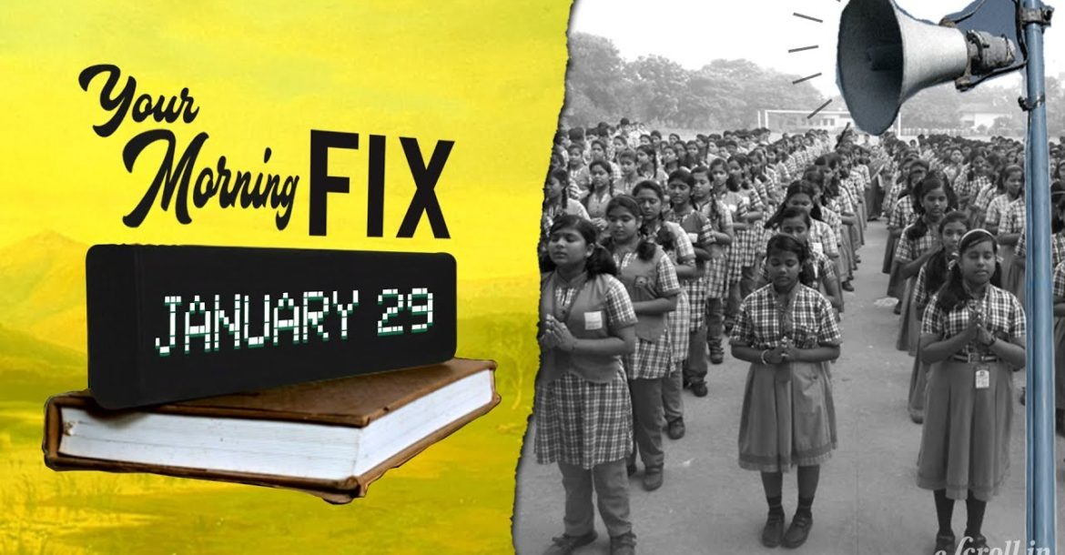 Your Morning Fix: Plea against Hindu hymns in Kendriya Vidyalayas referred to Constitution Bench
