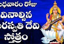 బుధవారం రోజు వినాల్సిన సరస్వతి దేవి స్తోత్రం   - Saraswathi Dwadasha Nama Stotram Non Stop 11 times