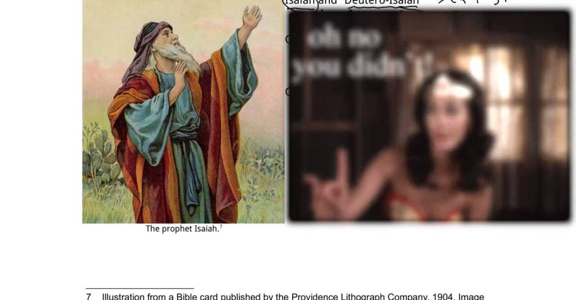 13c Jewish Groups and Doctrines - the Messiah, Isaiah, idolatry, and monotheism