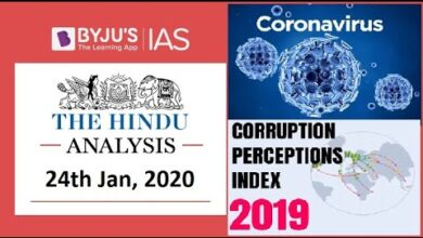 'The Hindu' Analysis for 24th Jan, 2020. (Current Affairs for UPSC/IAS)