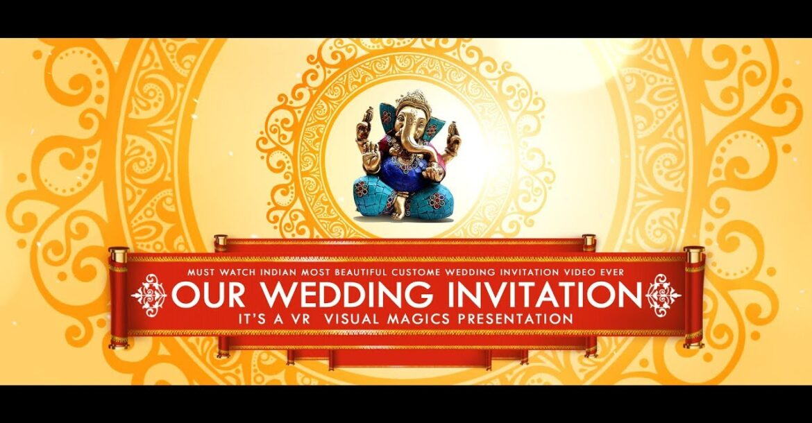 Best | Musical | indian | traditional | classy | elegant | wedding invitation video | Projetc 28