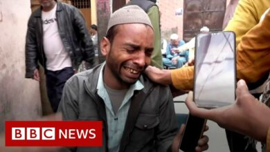 Delhi riots: 'My brother died after police beating' - BBC News