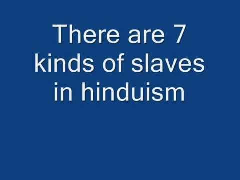 Exposing Hindu Scriptures: Slavery