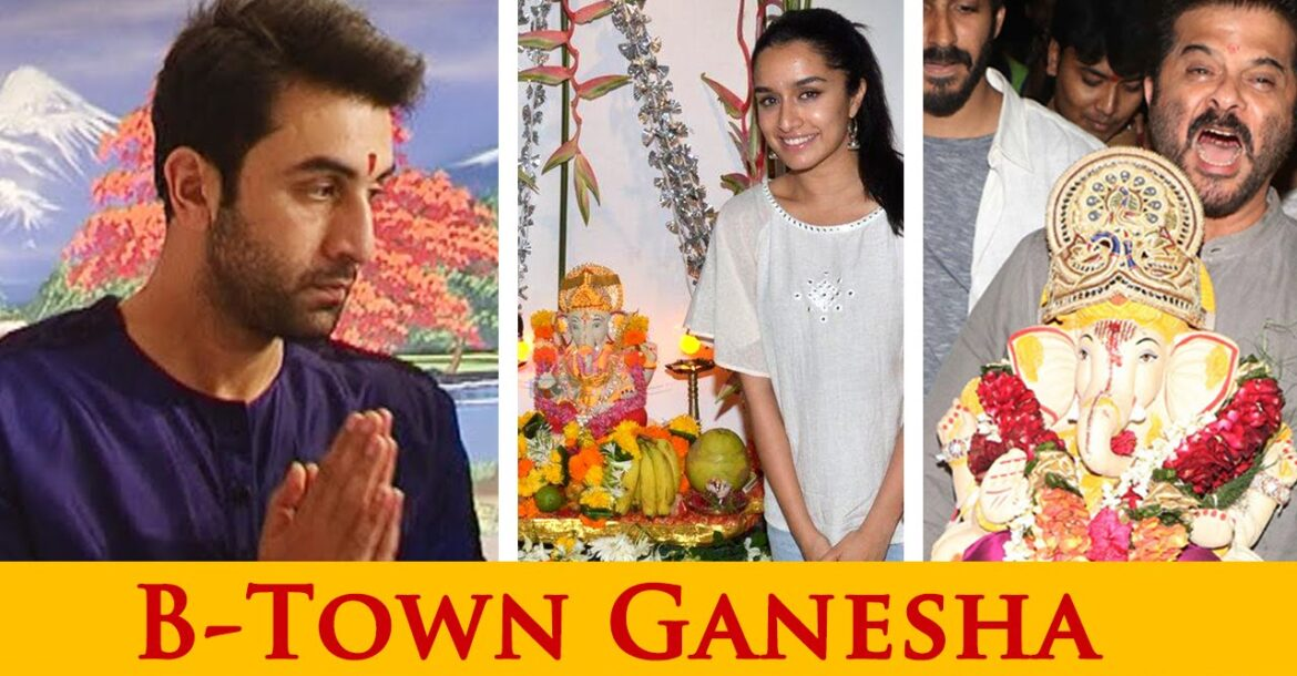 Ganpati Bappa Graces The B-Town! | Ganesh Chaturthi Special