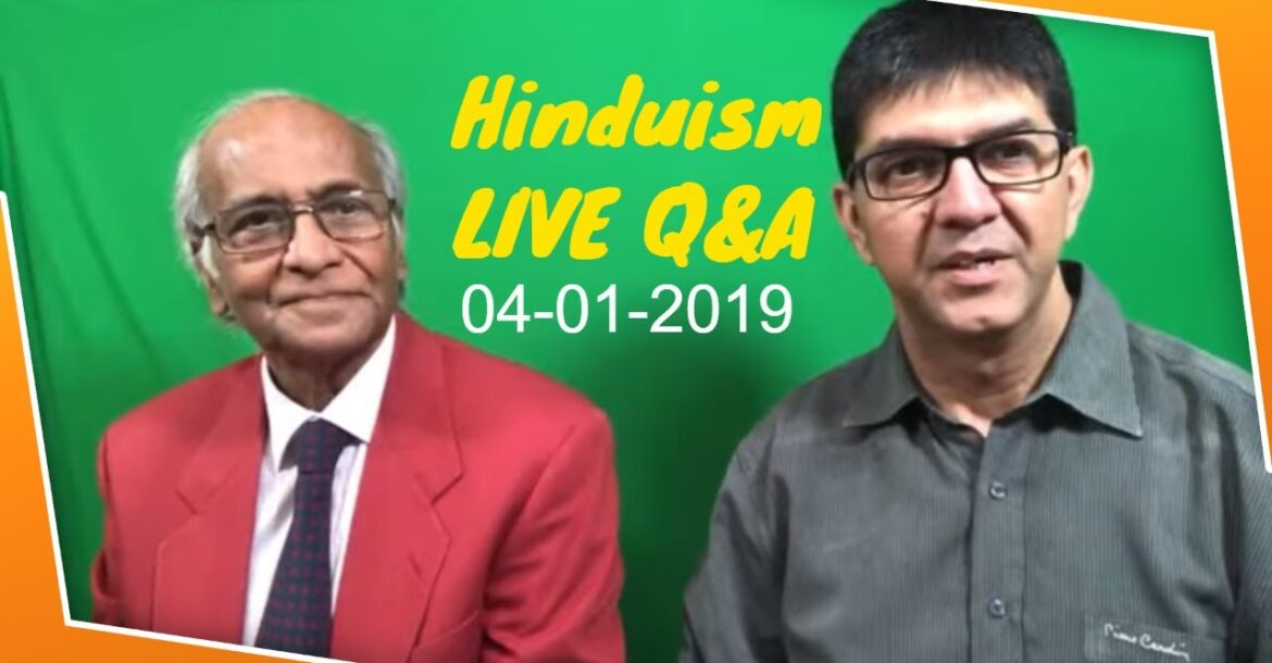 Hinduism live Qand A with Jay Lakhani and Nishit Kotak- Jan 4 2020.