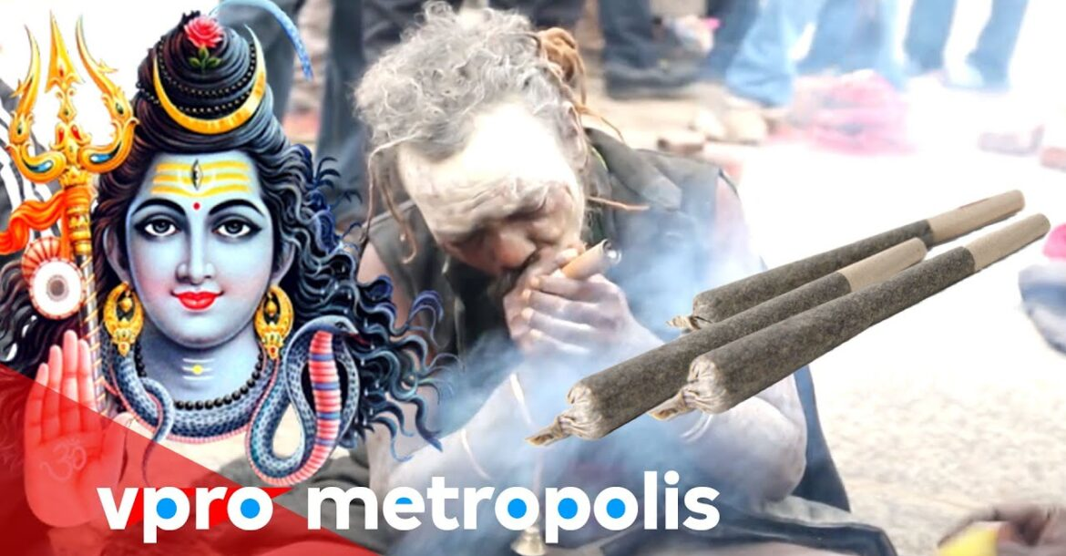 Making a joint for God Shiva in Nepal - vpro Metropolis 2014