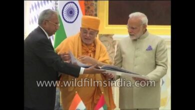 Narendra Modi launches project to build Abu Dhabi's first Hindu stone temple