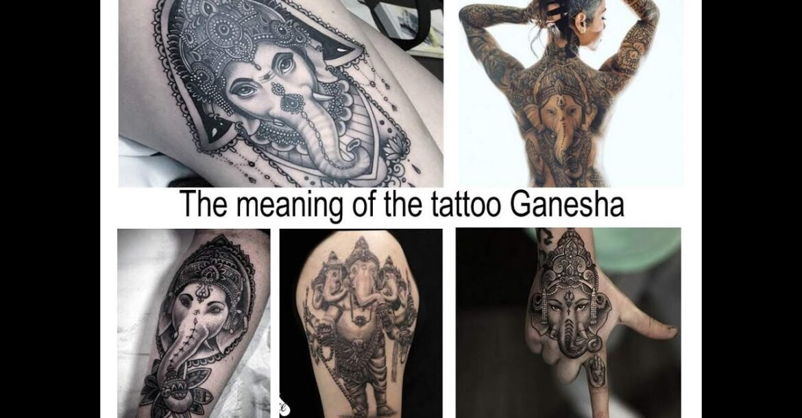 The meaning of the tattoo Ganesha - Facts and photos of tattoos for the site tattoovalue.net