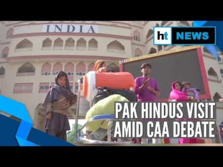 Watch: 50 Hindu families from Pakistan in India for religious trip to Haridwar