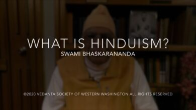 What is Hinduism? with Swami Bhaskarananda 12Jul20