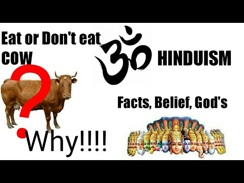 Why Hindu don't eat cow? || HINDUISM FACTS, BELIEF, GOD'S