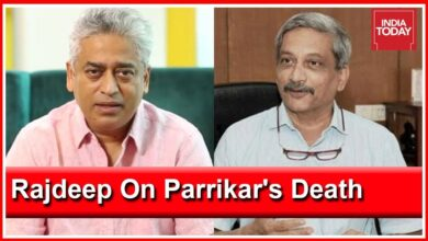 """Manohar Parrikar Rose Above Catholic-Hindu Divide In Goa"": Rajdeep Sardesai's Tribute"