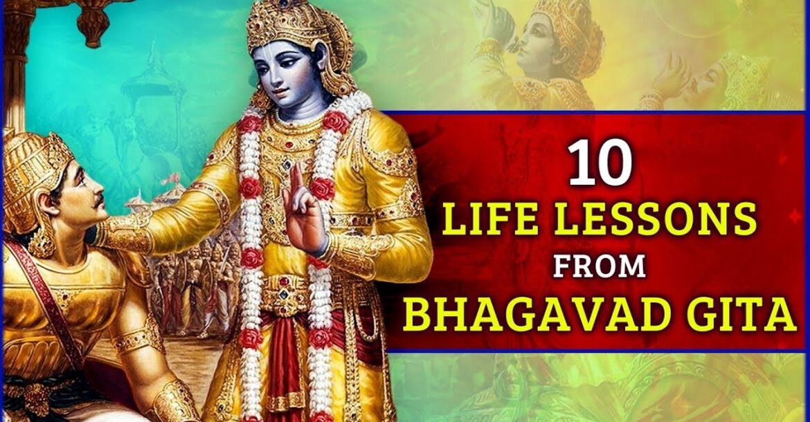 10 life changing learning facts of bhagavad gita | Bhagavad Geeta Quotes | Law of Karma | भागवत गीता