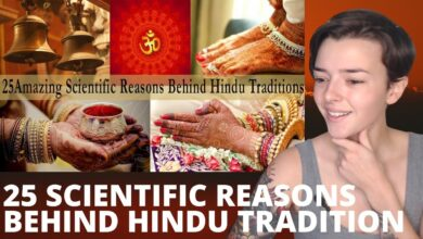 25 Amazing Scientific Reasons Behind Indian Traditions & Culture - Hinduism Facts | REACTION!