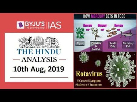 'The Hindu' Analysis for 10th August, 2019 (Current Affairs for UPSC/IAS)