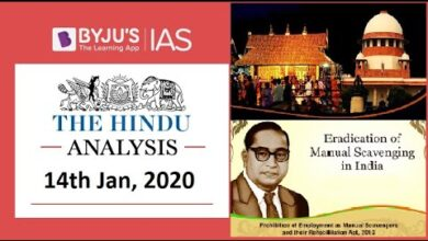 'The Hindu' Analysis for 14th Jan, 2020. (Current Affairs for UPSC/IAS)