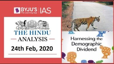 'The Hindu' Analysis for 24th Feb, 2020. (Current Affairs for UPSC/IAS)