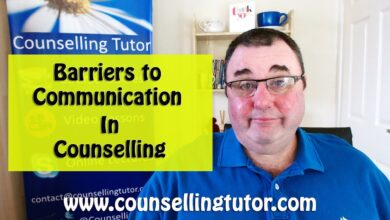 Barriers to communication in counselling and psychotherapy