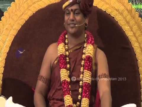 Concept of God in Hinduism -- Revolutionary talk by Nithyananda