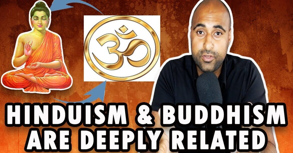 Debunking The False Narrative Of Buddhism Being Separate From Hindu Philosophy(HINDI SUBS)