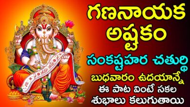 Gananayaka Ashtakam - Lord Ganesh Songs | Vinayaka Special Songs | Telugu Devotional Songs