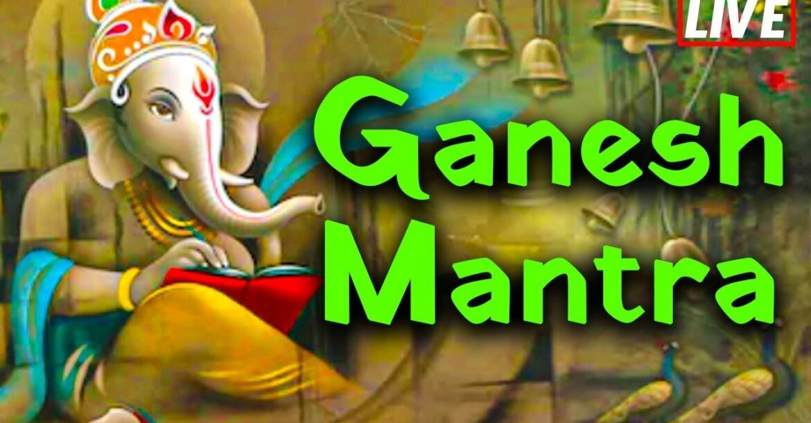 Ganesh Mantra Powerful Mantra for Success   Lord Ganesh Songs   Bhakthi Live