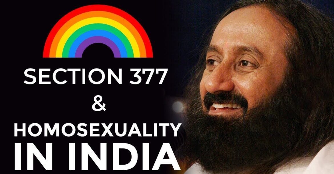 Gurudev On Section 377 | Homosexuality In India
