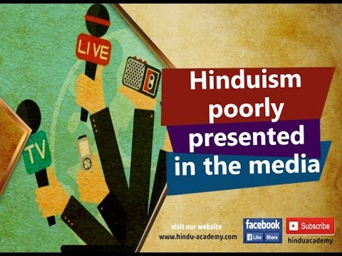 Hinduism poorly presented in the media