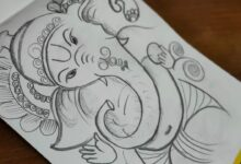 How to draw Ganesha|Easy Ganesh Drawing|Ganesh Chaturthi Drawing|Pencil Drawing|Ganesh Drawing