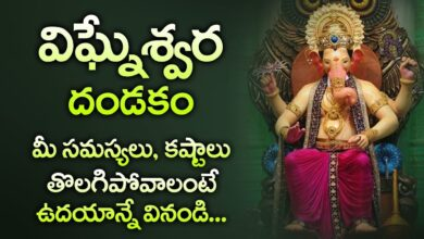 LORD VIGNESHWARA DANDAKAM || TELUGU BHAKTI SPECIAL SONGS | POPULAR BEST GANESHA SONGS