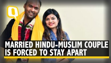 Married For a Year, Hindu-Muslim Couple Forced to Stay Apart Amid 'Love Jihad' Claims | The Quint