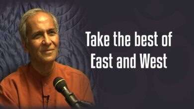 Take the best of East and West   Jay Lakhani   Hindu Academy