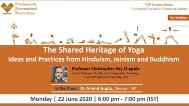 Talk on The Shared Heritage of Yoga Ideas and Practices from Hinduism, Jainism and Buddhism