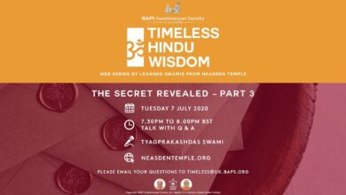 The Secret Revealed: Part 3 – Timeless Hindu Wisdom Series: Session 15