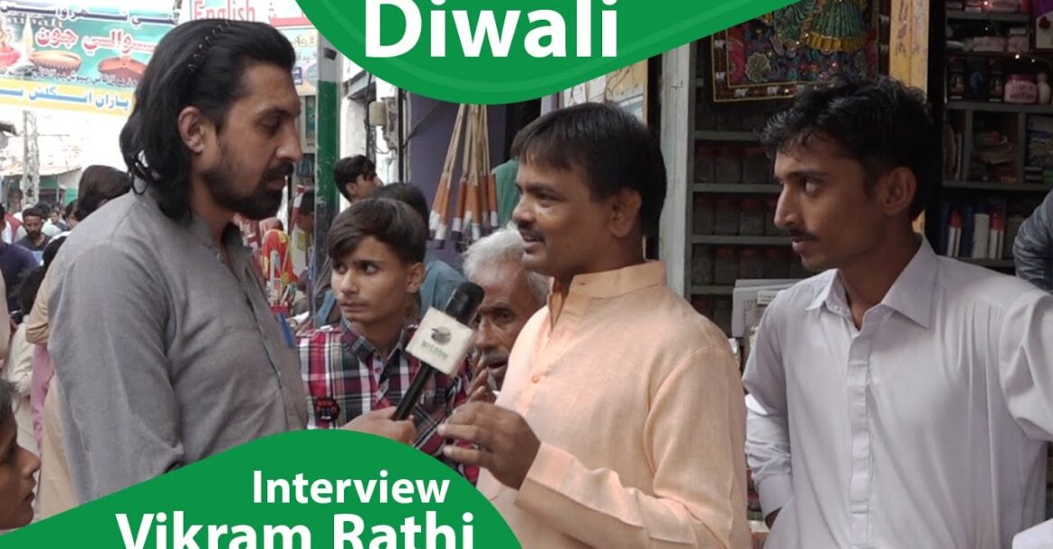 Vikram Rathi Shopkeeper Interview about Diwali Celebrations and Hindu Muslim Unity
