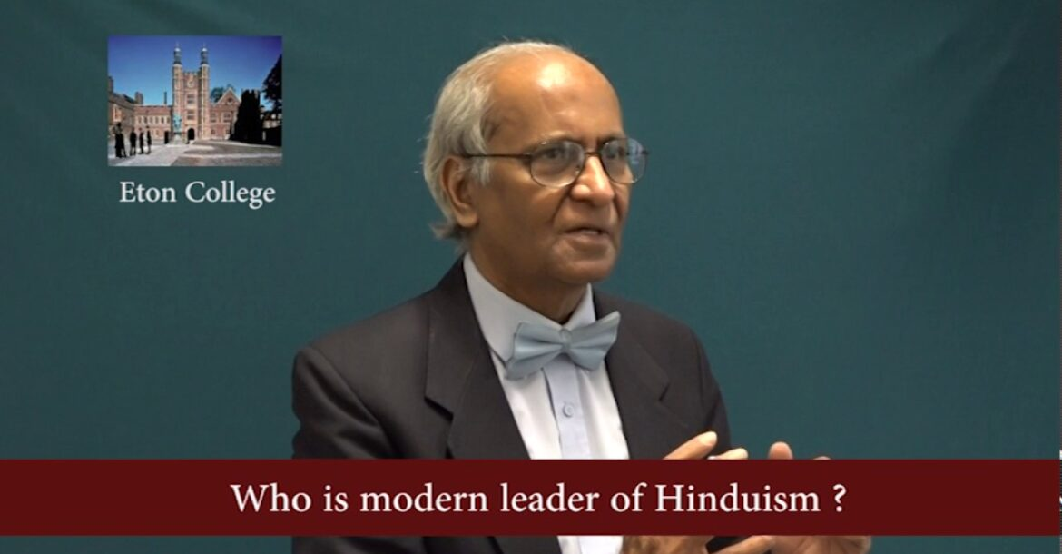 who is modern leader of Hinduism