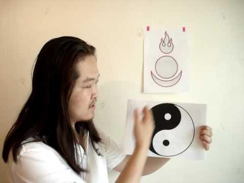08 Mongolian sun moon and fire symbol : Wisdom, Method and Wish