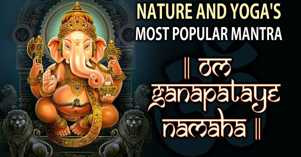 3 HOURS : LORD GANESHA MANTRA EXTREME CHANTING || NATURE AND YOGA'S MOST POPULAR MANTRA